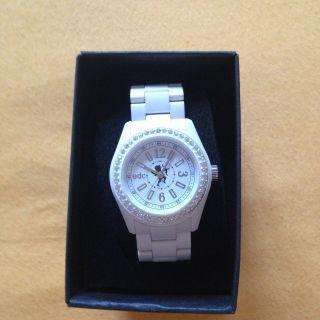 Esprit Uhr,  Edc,  Weiß,  Ungetragen,  Mit Etikett,  Originalverpackung,  Amor Bild