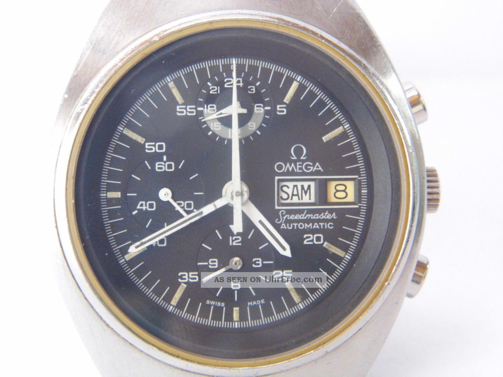 Herrenuhr Omega Speedmaster Mark 4,  5,  Cal.  1045,  Läuft Gut Hält Die Zeit Mit Box Armbanduhren Bild