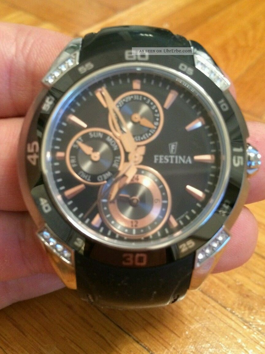 Festina Damenuhr Armbanduhr Armbanduhren Bild
