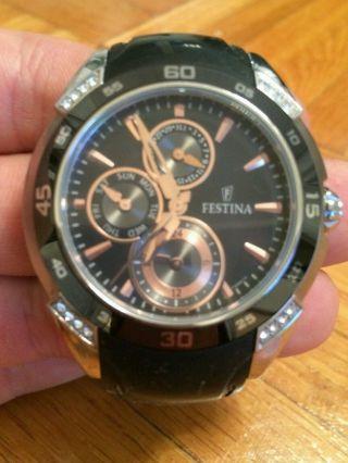 Festina Damenuhr Armbanduhr Bild