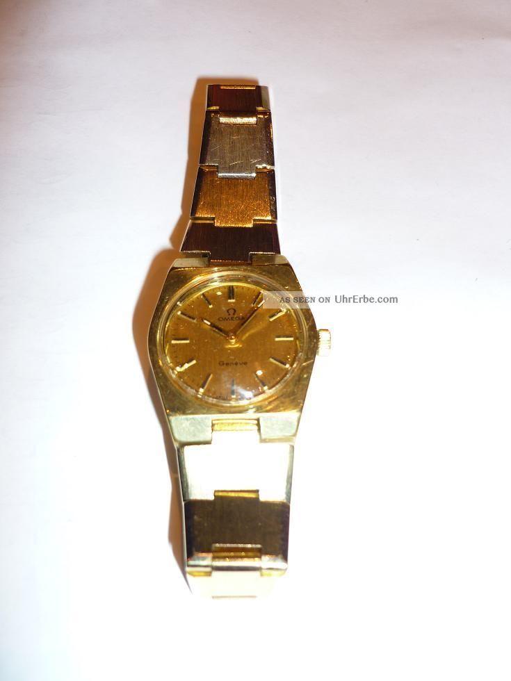 Omega Geneve Damenuhr Armbanduhren Bild