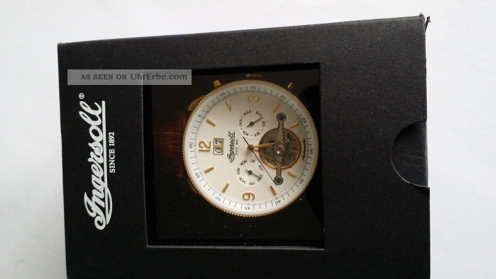 Damen/ Herrenarmbanduhr Von Ingersoll Armbanduhren Bild