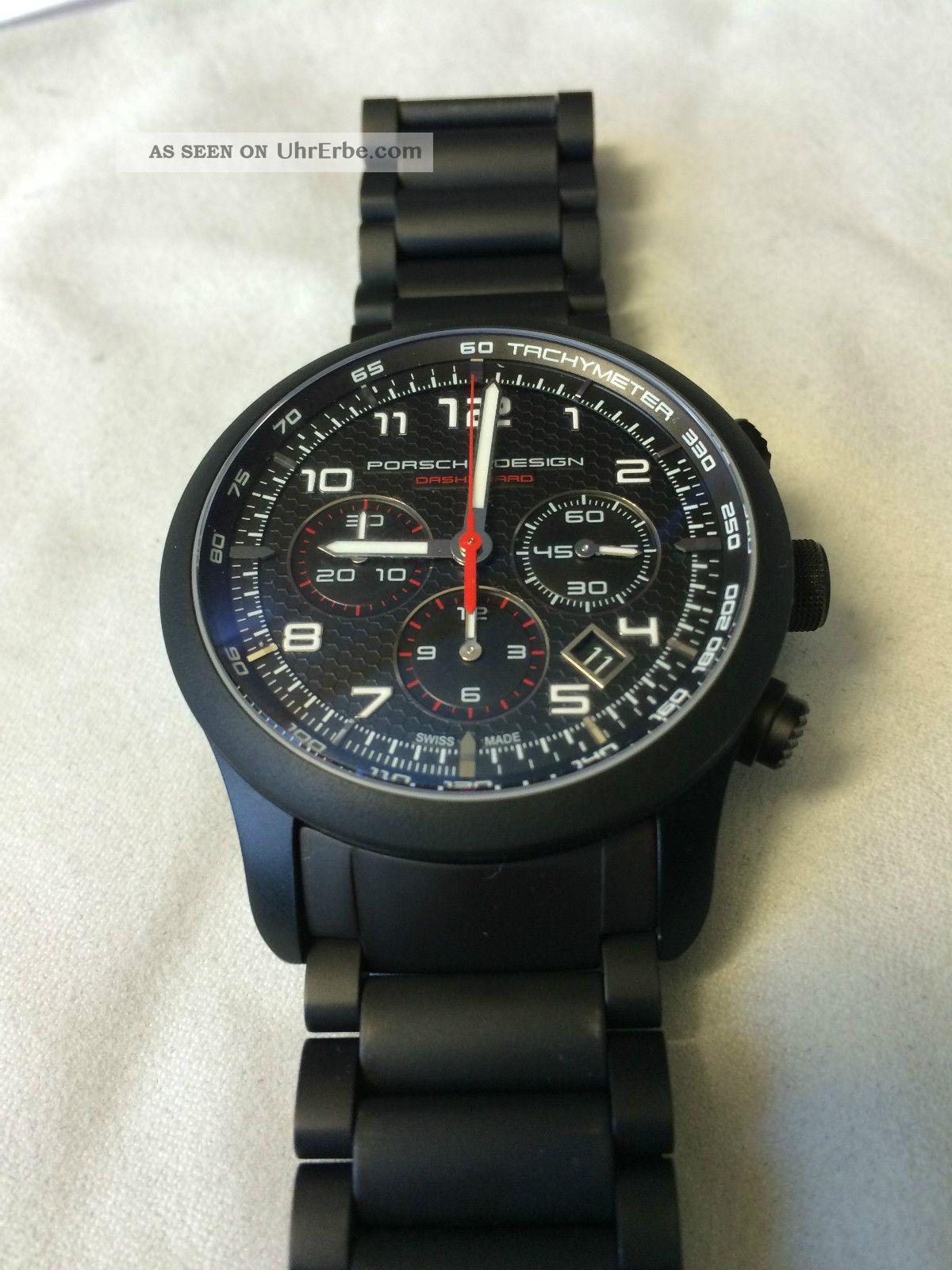 Porsche Design Dashboard P6612 - Titan Armbanduhren Bild