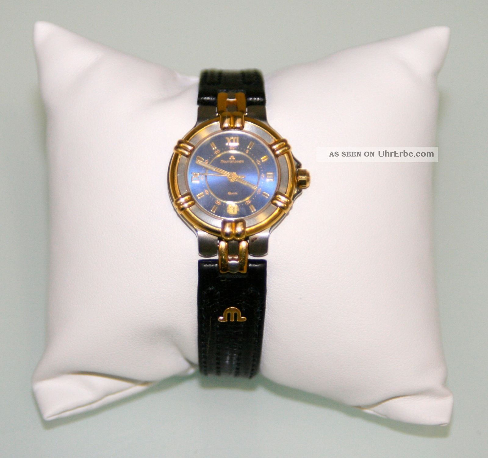"Maurice Lacroix Damenuhr ""calypso"",  Uhrenbox,  Papiere,  Frische Batterie Armbanduhren Bild"