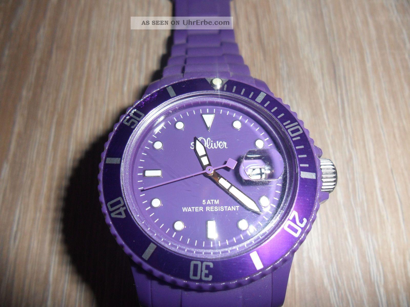 S Oliver Damen Armbanduhr Armbanduhren Bild