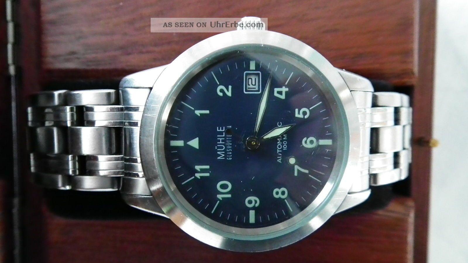 Glashütte - Mühle Sports Automatic M12 Armbanduhren Bild