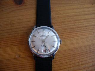Herren Automatic Uhr Camy Superautomatic Swiss Made 25 Jewels Incabloc Bild
