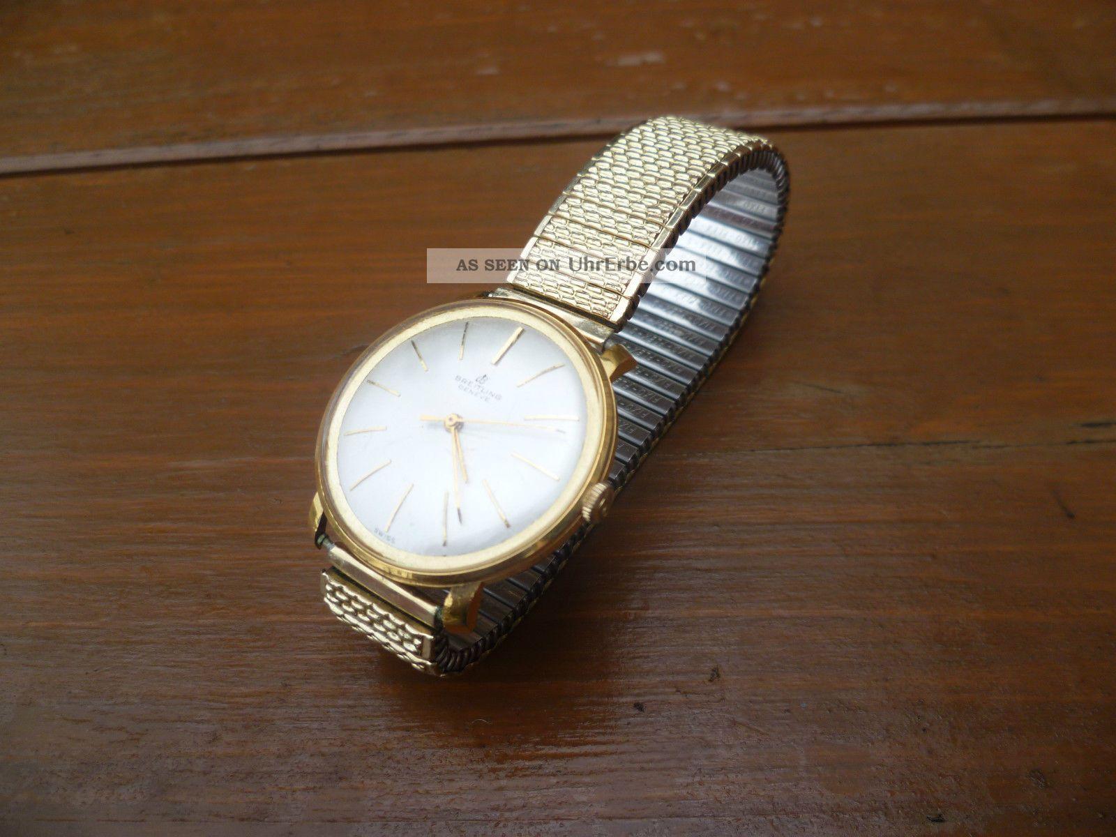 Breitling Uhr 60 Jahre Garantiert Echt Siehe Herkunft Armbanduhren Bild