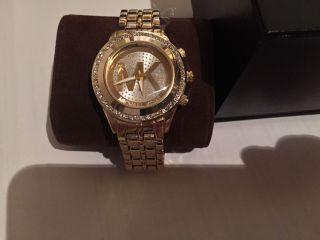 Nagelneue Michael Kors Uhr In Gold Bild
