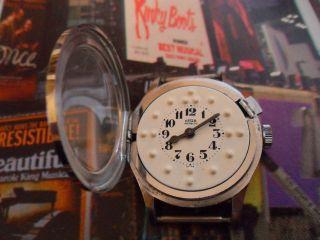Luxus Hochwertige Arsa Blinden Uhr Swiss Made Vintage Bild