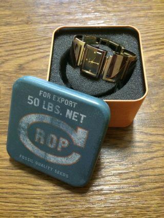 Fossil Glieder - Armbanduhr In Gold/braun Für Damen Zu Verkaufen Bild