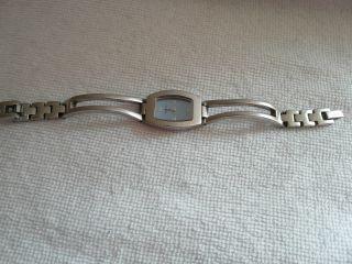 Fossil F2 Steel Es - 9935 Damen Armbanduhr Hellblaues Ziffernblatt Bild