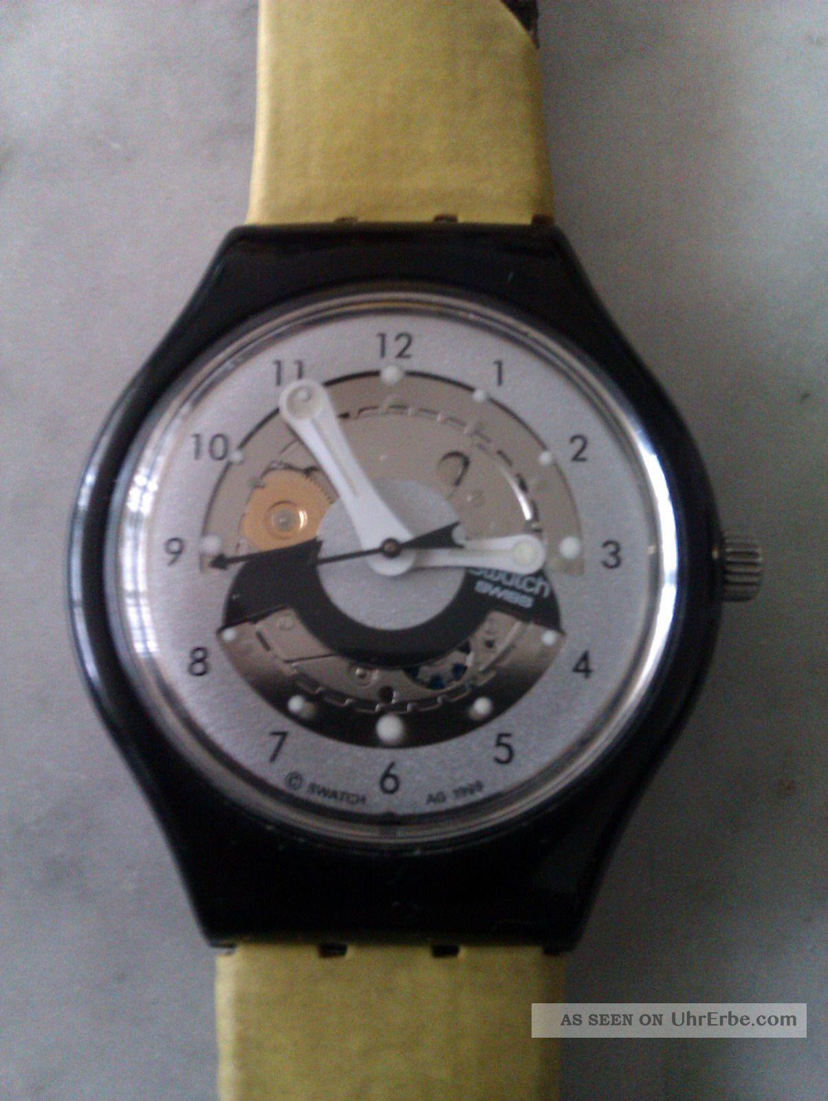 Swatch Uhr Autoquarz Von 1999 Armbanduhren Bild