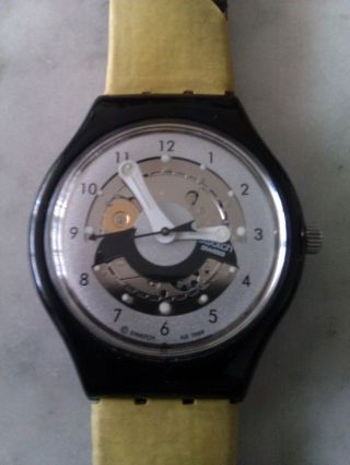 Swatch Uhr Autoquarz Von 1999 Bild