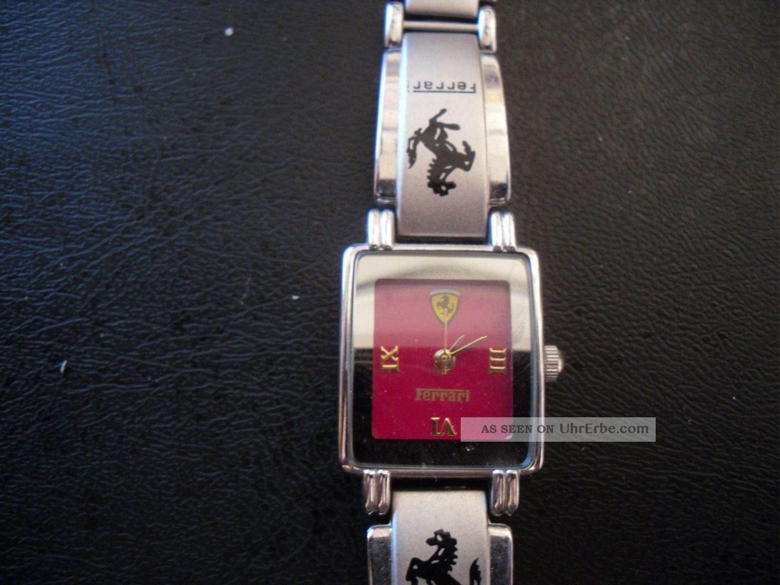 Damen Armbanduhr,  Uhr,  Ferrari,  Silber Armbanduhren Bild