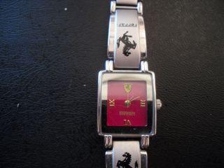Damen Armbanduhr,  Uhr,  Ferrari,  Silber Bild