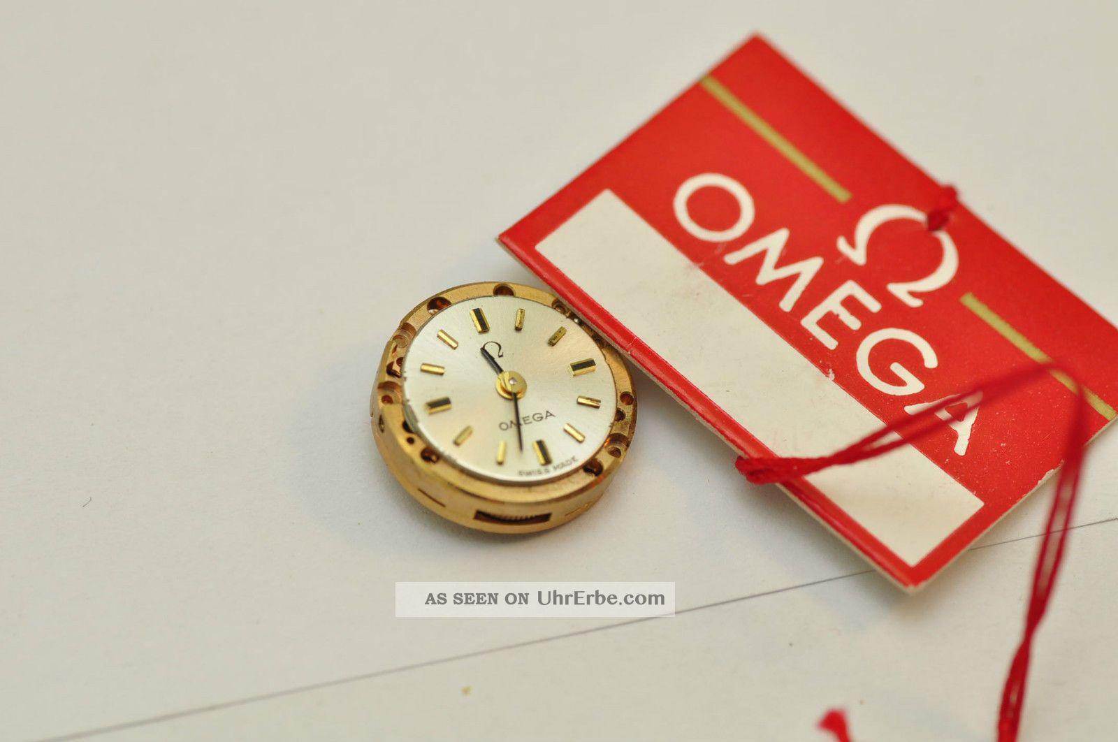 Omega Uhrwerk Werk Cal 640 Movement From Eu Armbanduhren Bild