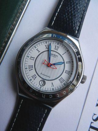 Swatch,  Irony Automatik,  Yas400 Poisson Rouge,  Neu/new Bild
