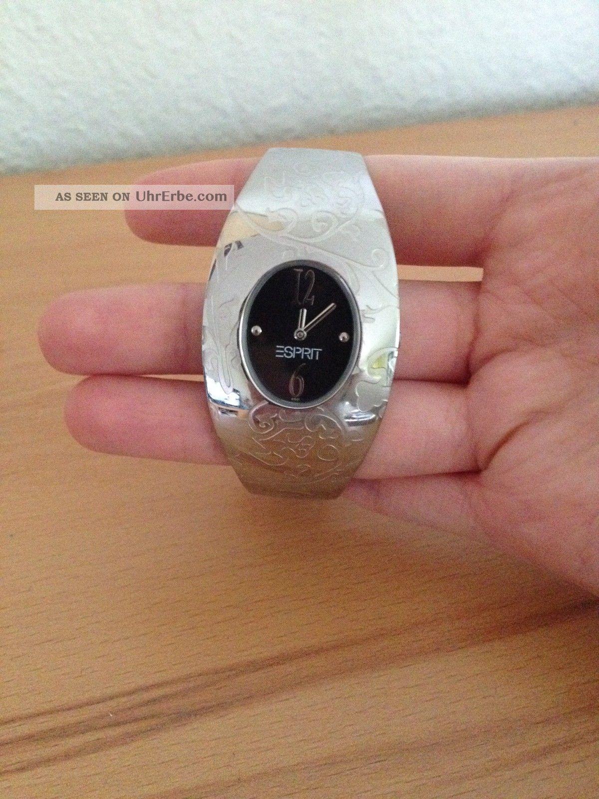 Silberne Uhr Von Esprit Armbanduhren Bild