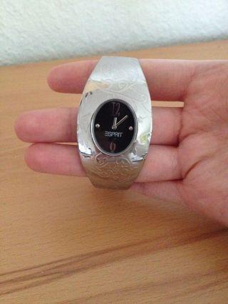 Silberne Uhr Von Esprit Bild