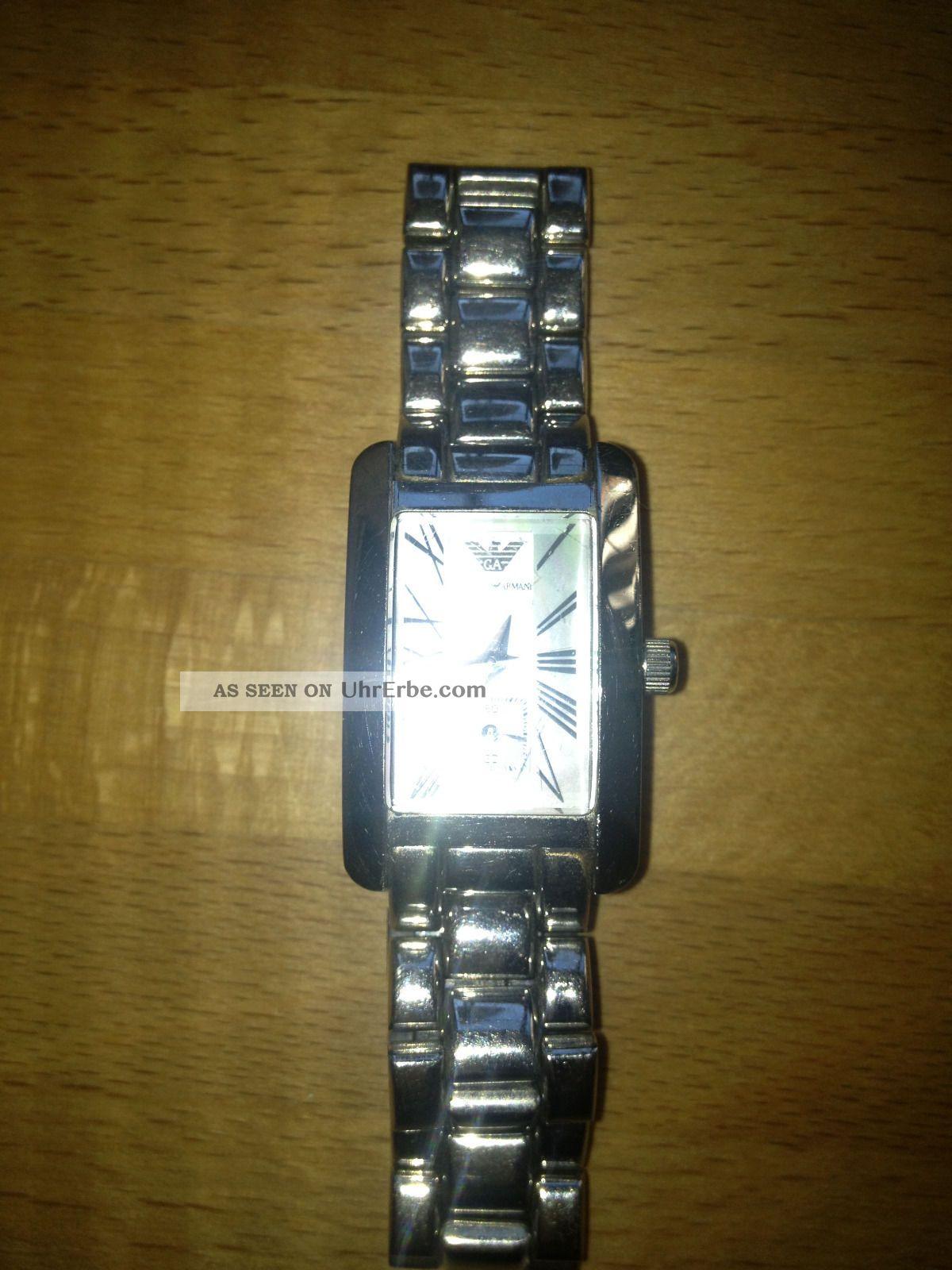 Giorgio Armani Ar0171 Armbanduhr Für Damen Armbanduhren Bild