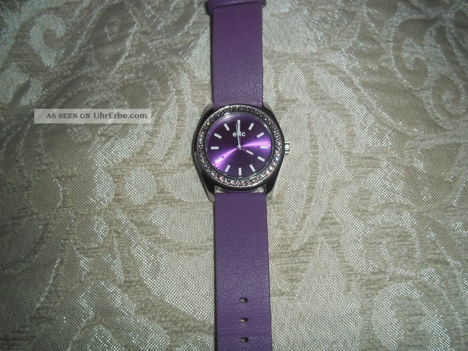 Esprit Edc Disco Glam Lust Purple With Stones Damenuhr Armbanduhren Bild