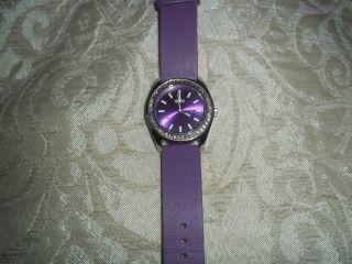 Esprit Edc Disco Glam Lust Purple With Stones Damenuhr Bild
