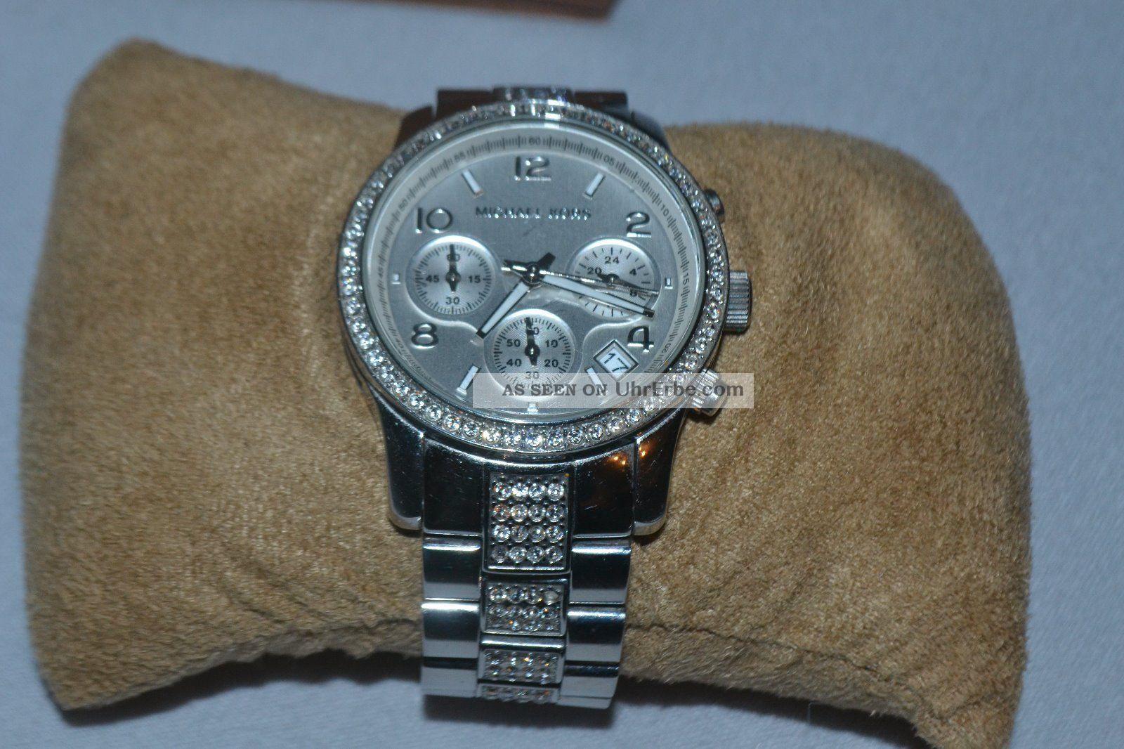 Michael Kors Damen Chronograph Mk5108 Armbanduhren Bild