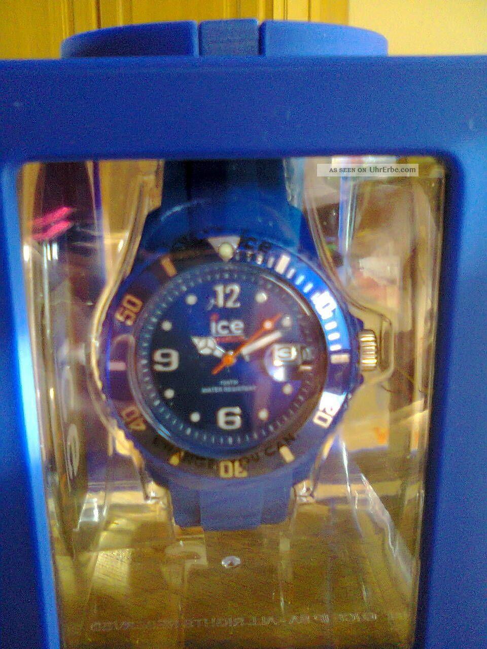 Ice - Watch Dunkelblau - Ungetragen Armbanduhren Bild