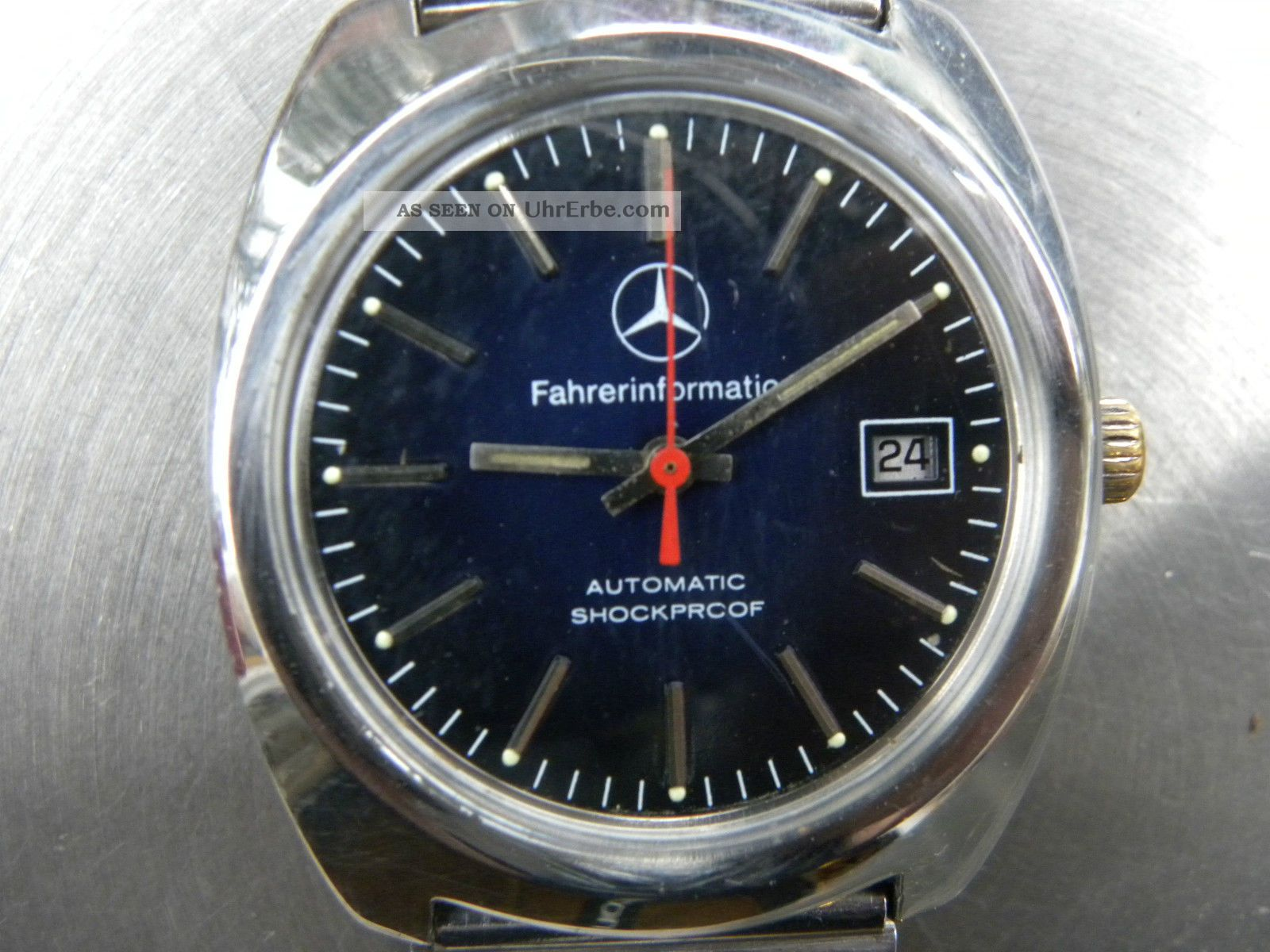 Mercedes Automatic Armbanduhren Bild
