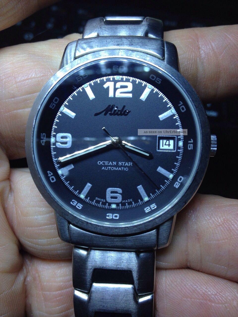 Armbanduhr Mido Ocean Star (8720) Armbanduhren Bild