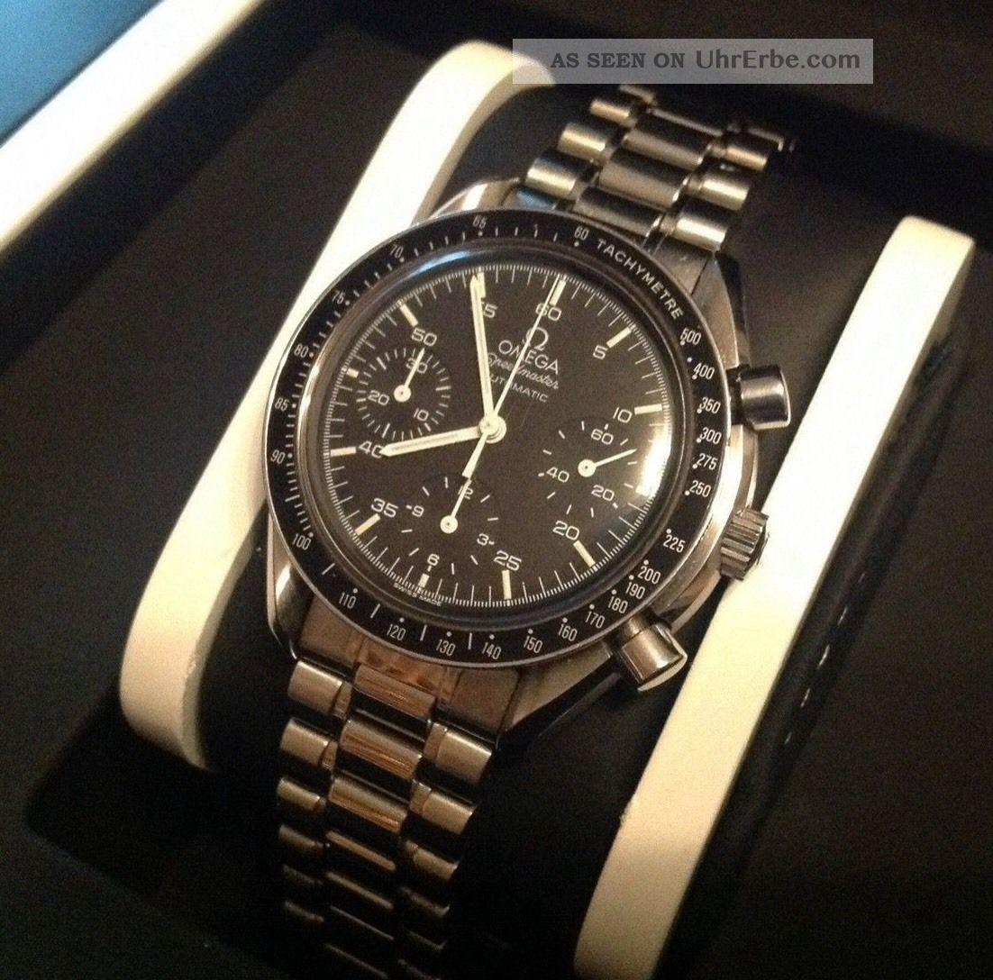 Omega Speedmaster Automatic Ref:351050 Chronograph Armbanduhren Bild