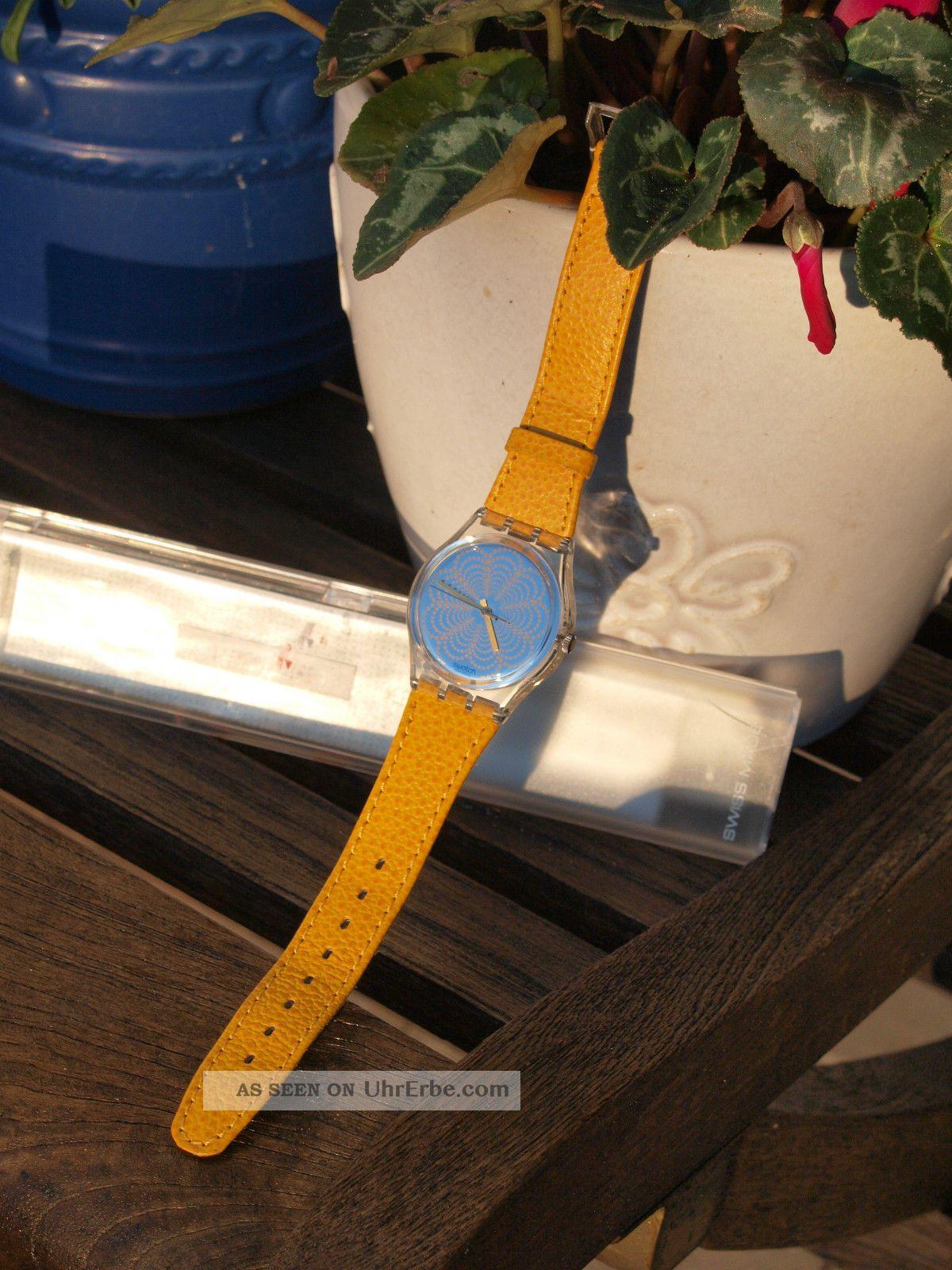 Swatch Damen - Armbanduhr Mit Fetzigem Armband Und Tollem Zifferblatt Armbanduhren Bild