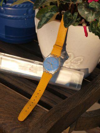 Swatch Damen - Armbanduhr Mit Fetzigem Armband Und Tollem Zifferblatt Bild