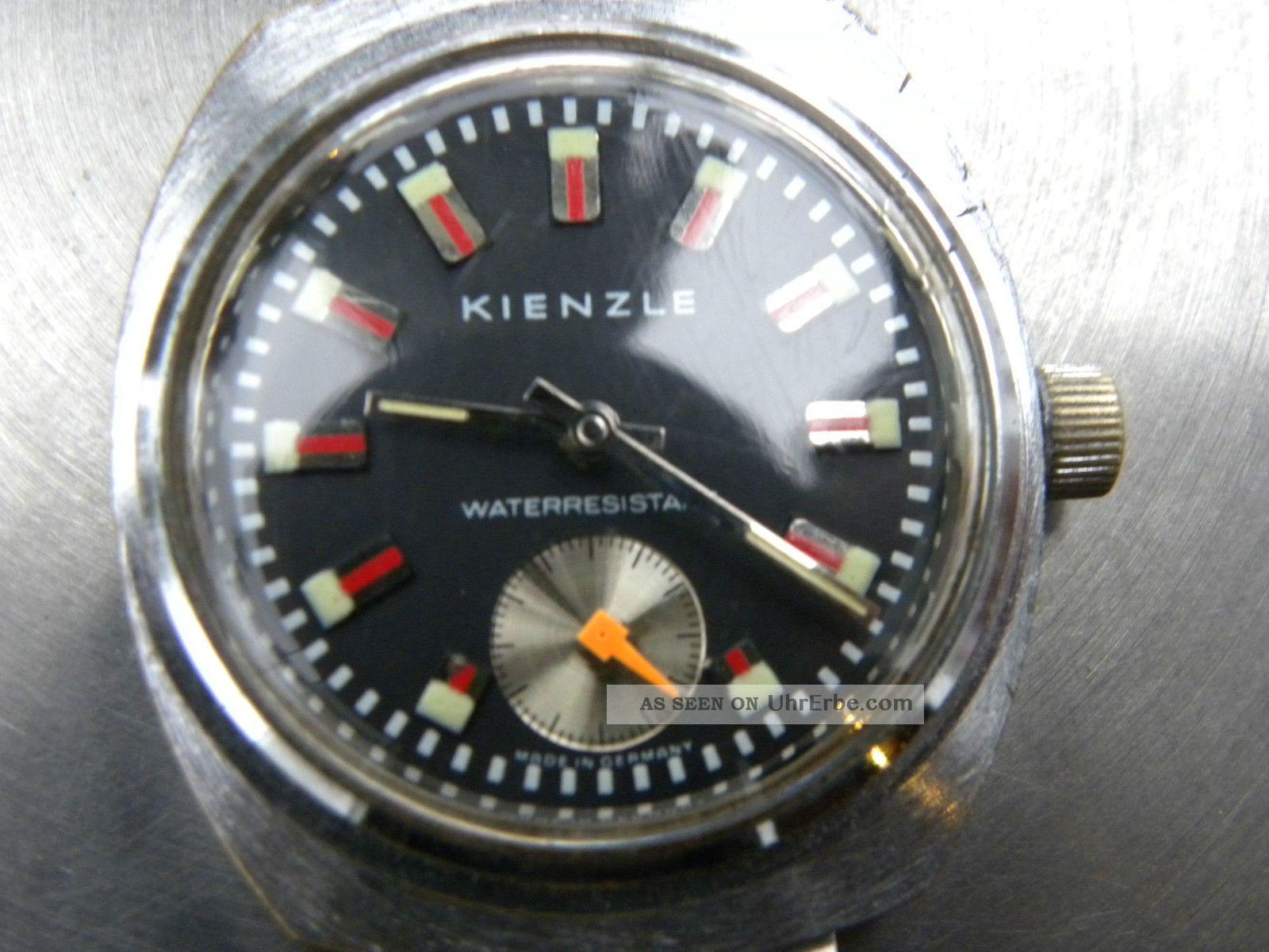 Kienzle Handaufzuguhr Mit Seltenem Zb, Armbanduhren Bild