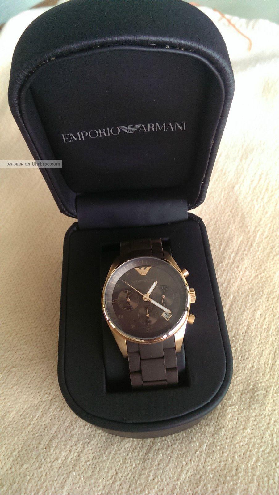 Damenuhr Emporio Armani Ar5891 - Neuwertig - Armbanduhren Bild