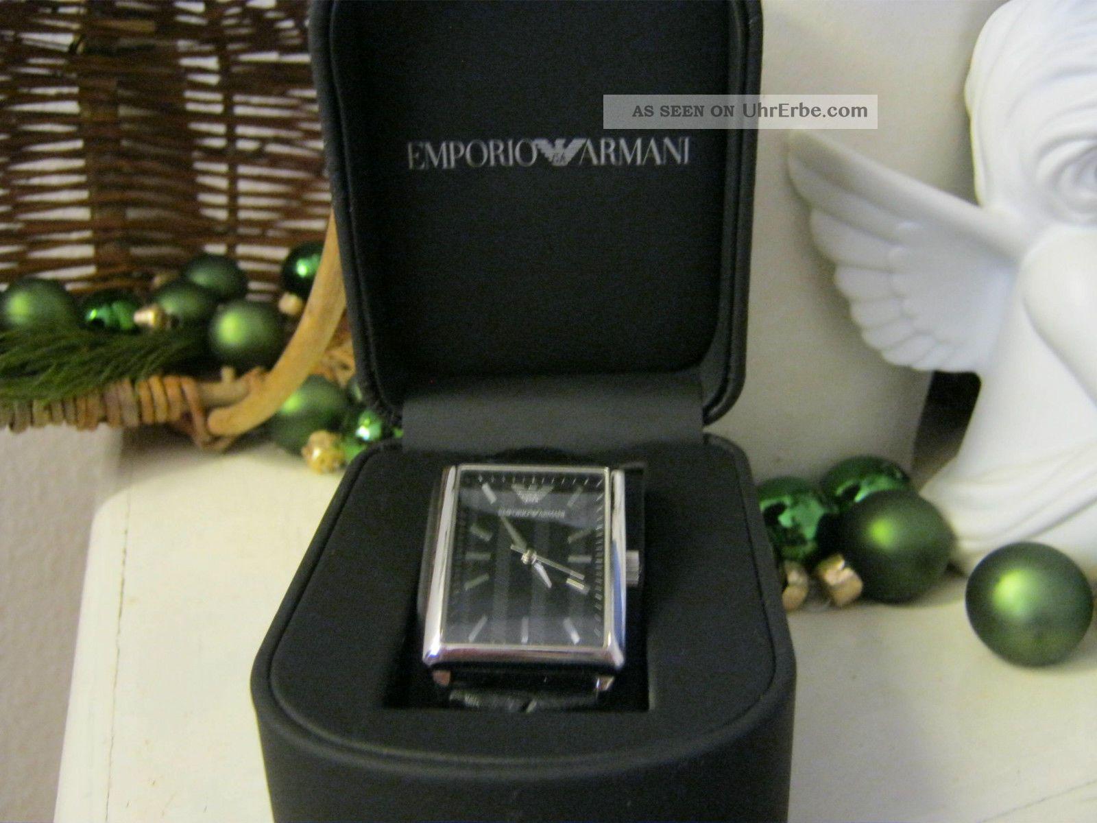 Emporio Armani Armbanduhr Luxusmarke Armbanduhren Bild