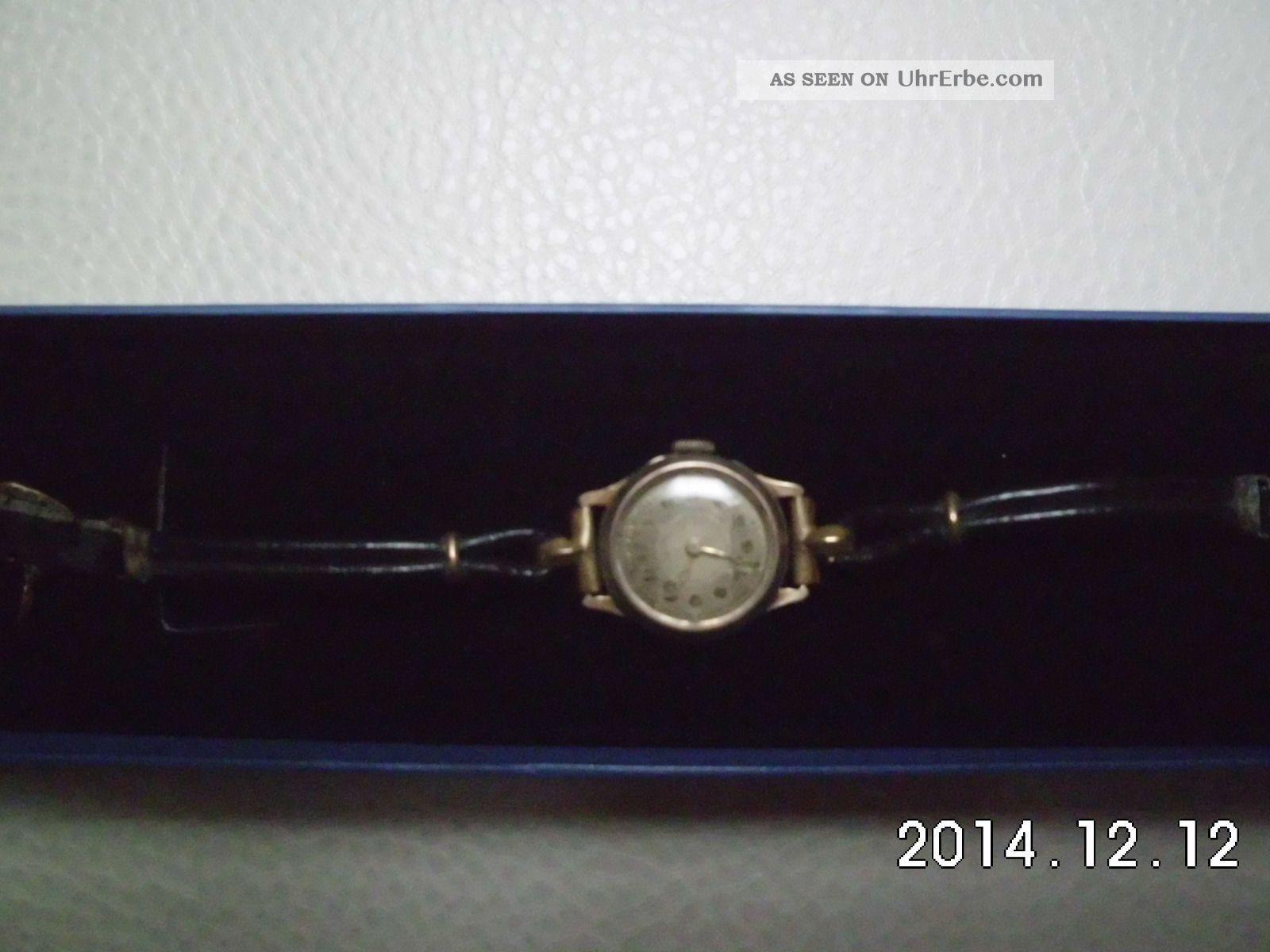 Damenarmbanduhr Aus 585 Gold (14 K) Armbanduhren Bild