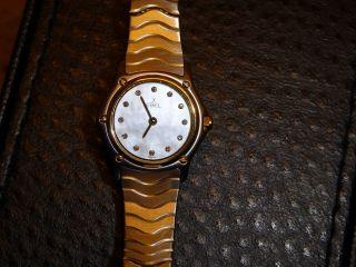 Ebel Lady Classicwave Gold / Stahl Damenuhr Classicwave Diamanten/perlmutt Bild