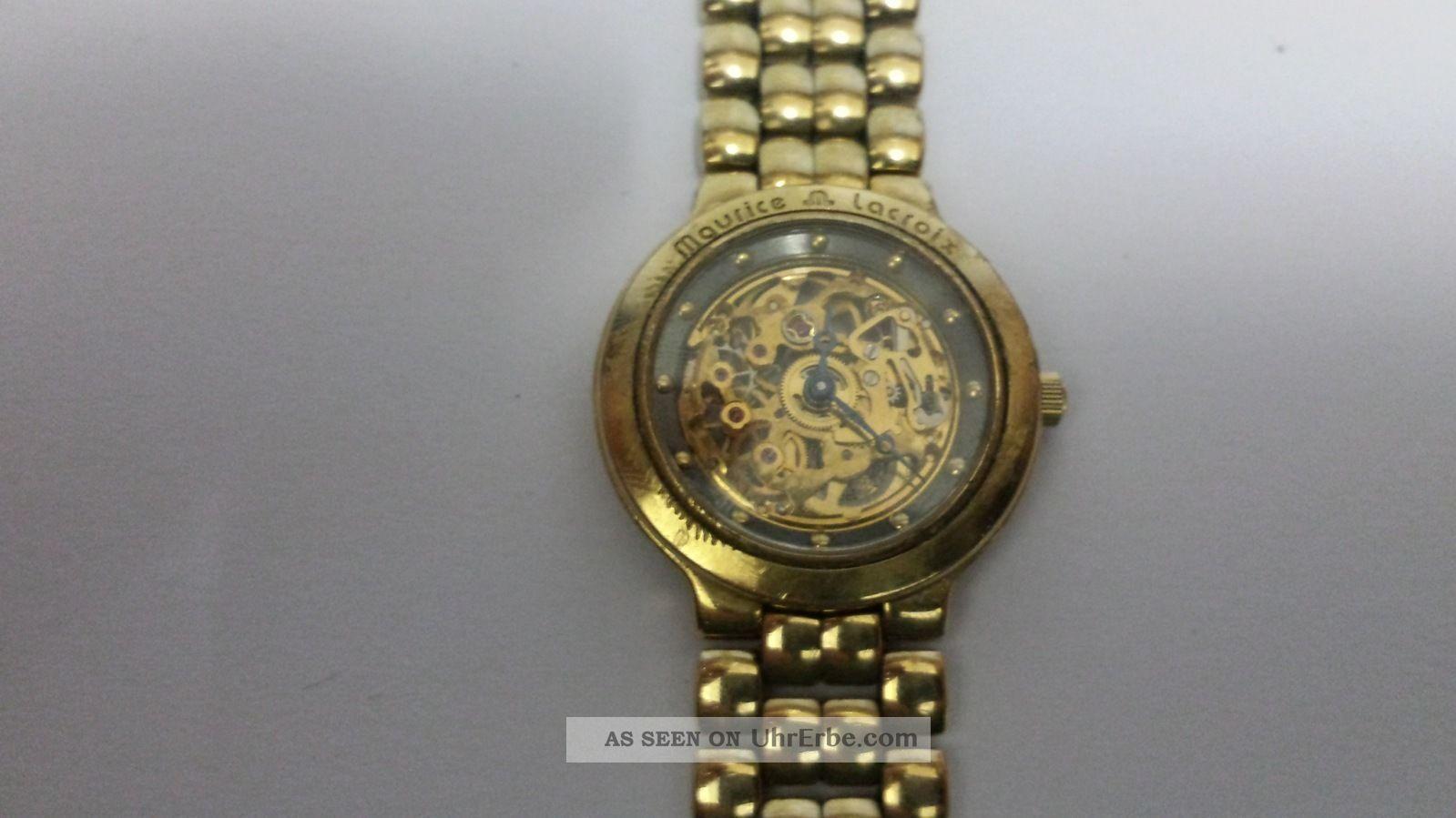 Maurice Lacroix Squelette Armbanduhren Bild