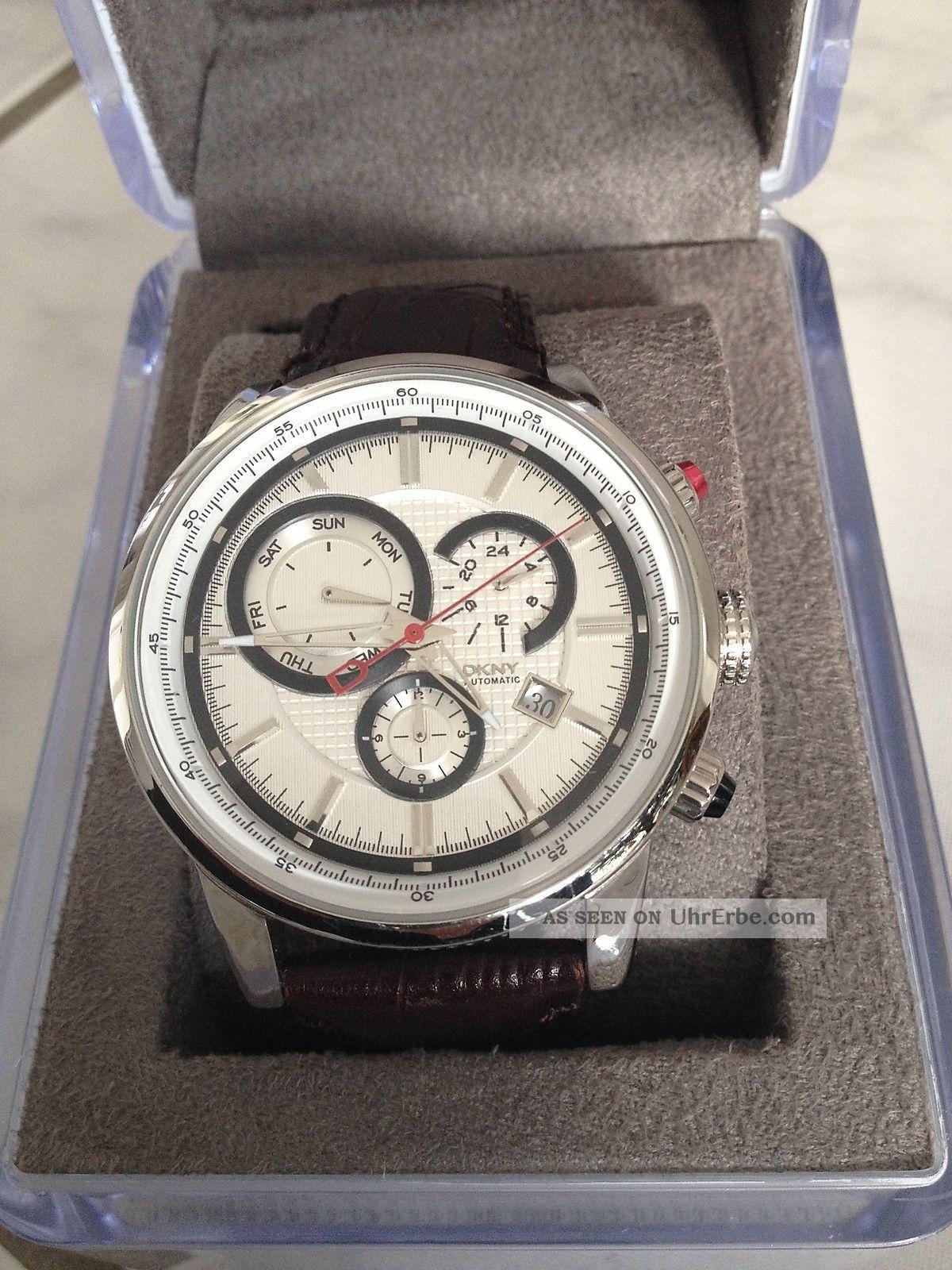 Dkny Herrenarmbanduhr Ny1360 Wie Armbanduhren Bild