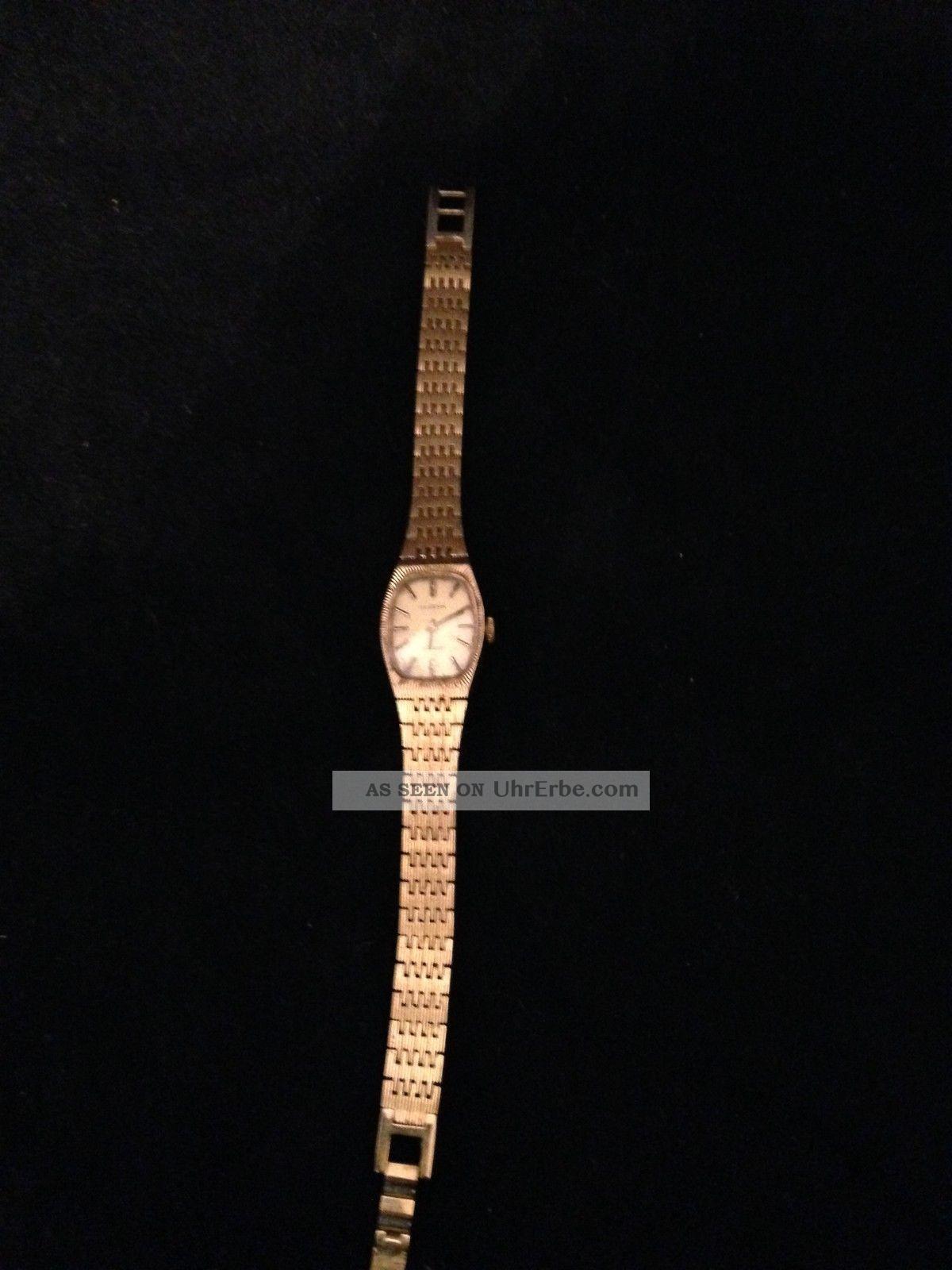 Bezaubernde Dugena Damen Armbanduhr Schweiz Läuft Armbanduhren Bild