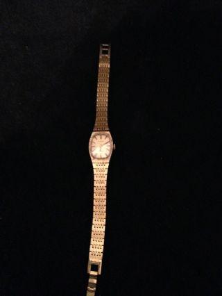 Bezaubernde Dugena Damen Armbanduhr Schweiz Läuft Bild