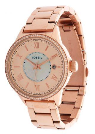 Fossil Damen Armbanduhr Rose Gold Bq1108 Bild