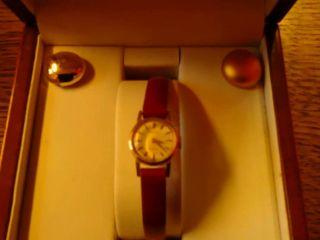 Damenuhr Rolex Prcesion 750er Gold Bild
