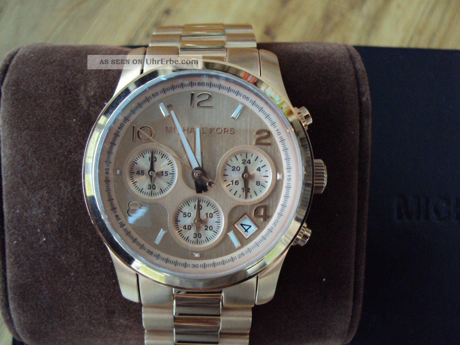 Michael Kors Mk5128 Armbanduhr Für Damen Armbanduhren Bild