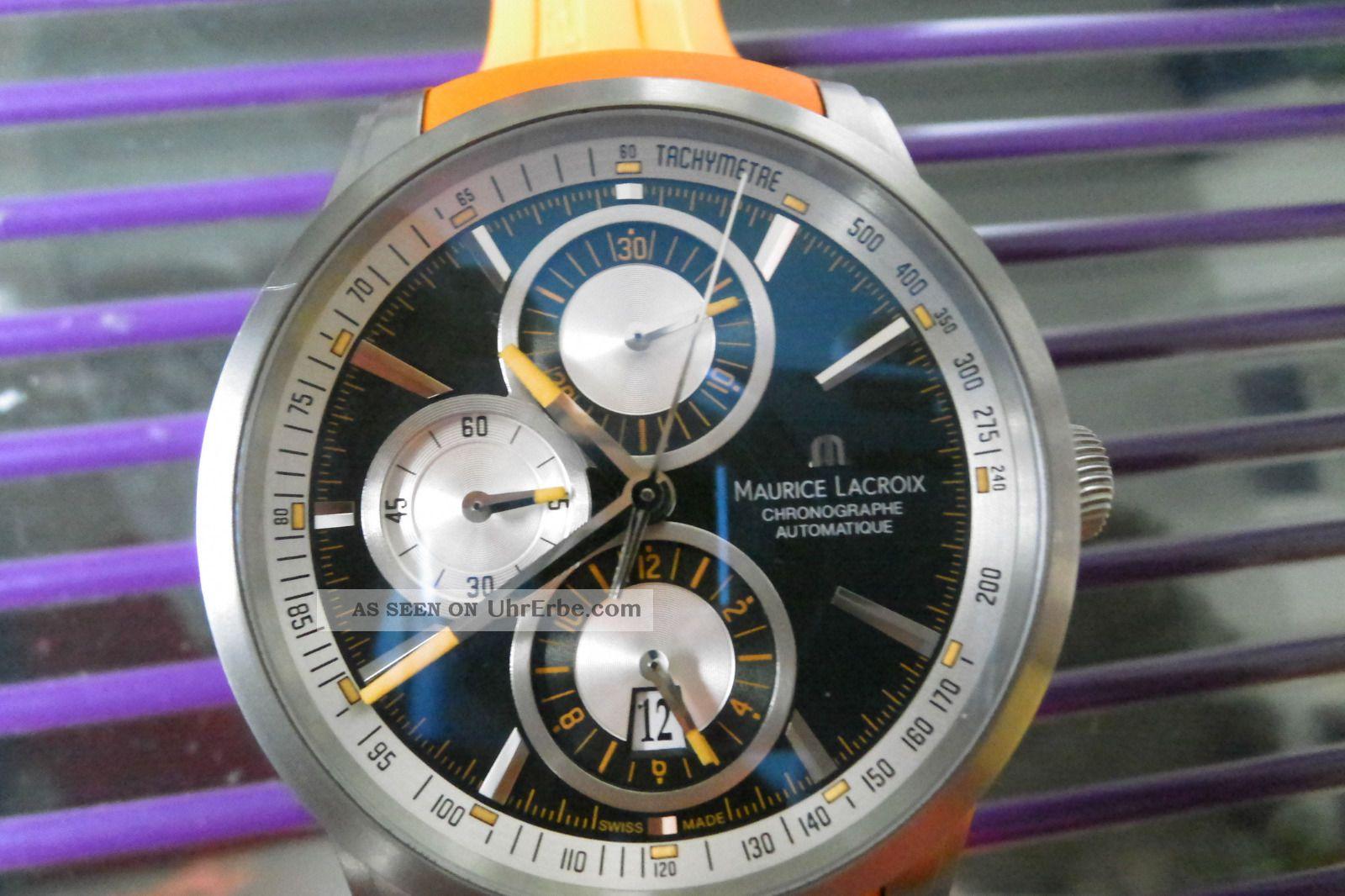 Maurice Lacroix Pontos Titan Sonderedition Uvp €3150.  - Armbanduhren Bild