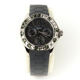 Esprit Dolce Vita Midnight Damen Armbanduhr Grau Chronograph Es102392016 Bild