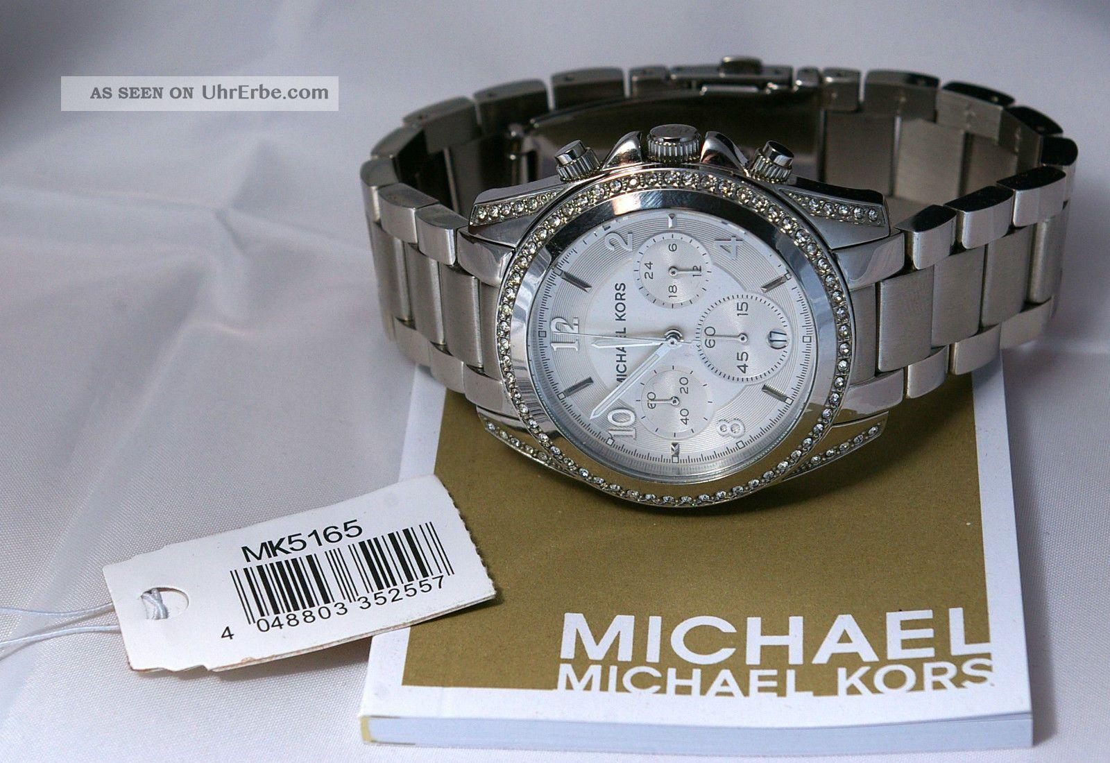 Michael Kors Chrono Mk 5165,  Wie Armbanduhren Bild