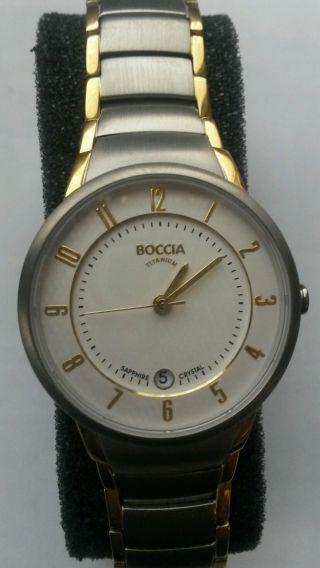 Boccia Titanium Classic 3158 - 02 Armbanduhr Für Damen Bild